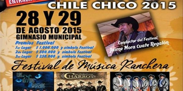 Primer festival de la voz del Tero  Chile Chico 2015.